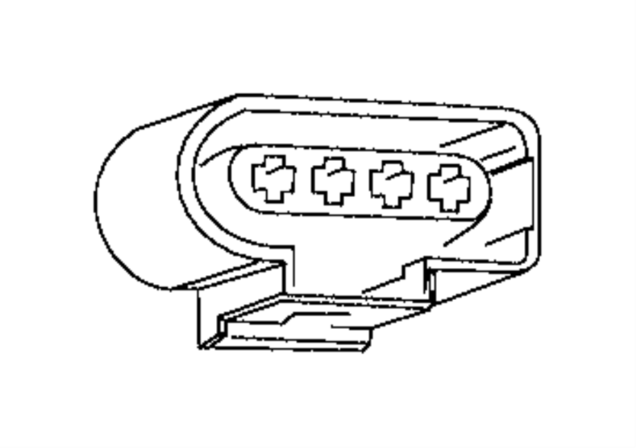 Ram PROMASTER CITY WAGON SLT Connector. Electrical