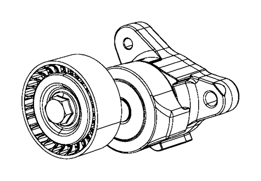 2015 Jeep Renegade Tensioner. Belt. Train, power, module