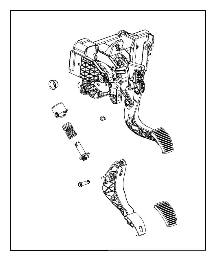 Dodge Ram 2500 Clip. Master cylinder push rod pin. Canada