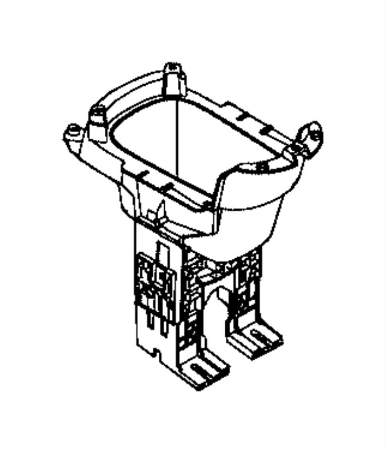 2015 Jeep Renegade Bin. Floor console. Trim: [*o0] color