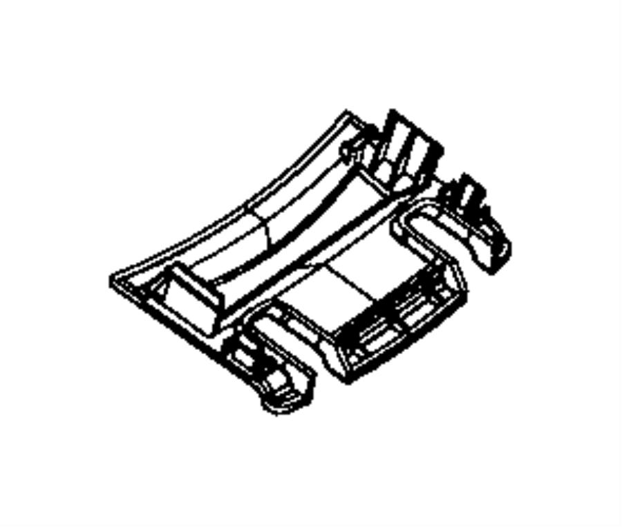 Jeep Grand Cherokee Bin, harness. Armrest, wiring. Ray