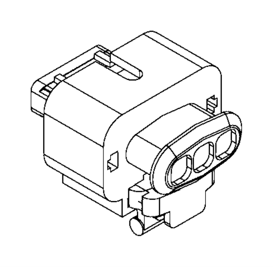 Dodge Journey Connector. Electrical. Export, us, canada