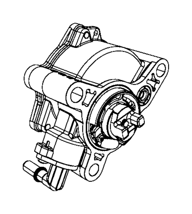 2012 Dodge Journey Pump. Vacuum. Diesel, engine, high