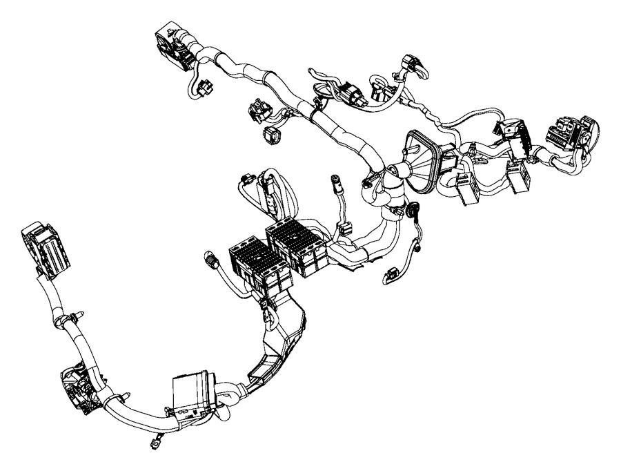 Jeep Cherokee Wiring. Dash. [bi-function halogen projector
