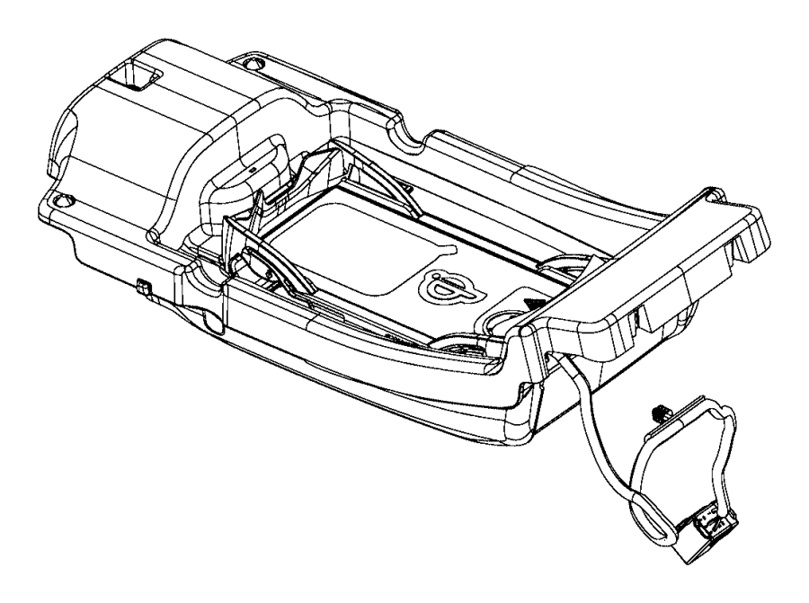 Jeep Cherokee Storage tray. Armrest. [center console parts