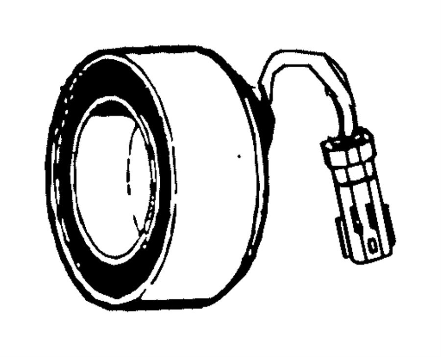 2015 Jeep Cherokee Coil. Stator. A/c compressor clutch