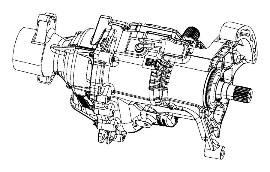 2015 Jeep Cherokee Module. Transfer case control. [awd
