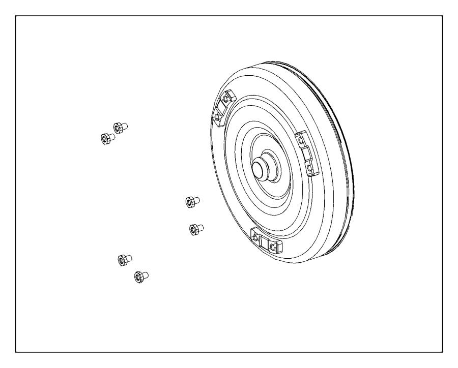 Chrysler Pacifica Converter Converter Kit Torque Axle
