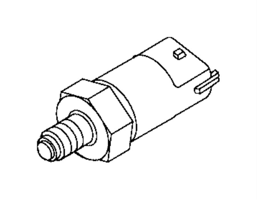 Ram ProMaster Sensor. Fuel pressure. Trim: [no description