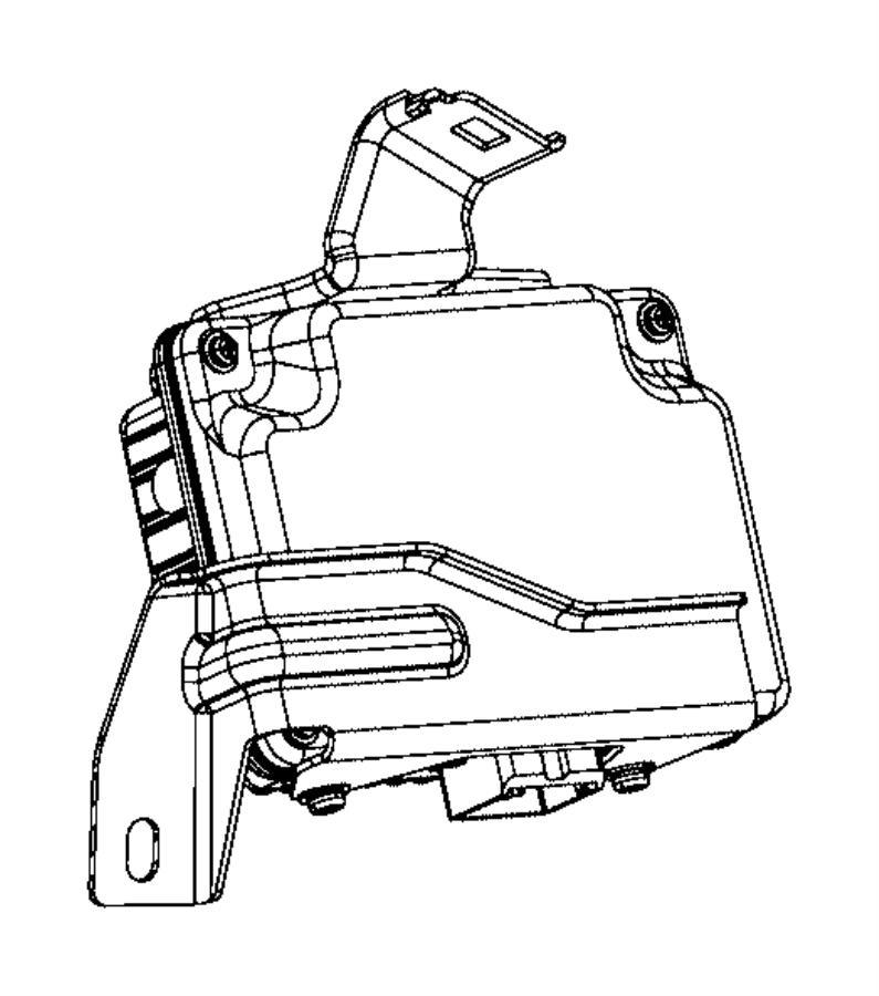 2015 Chrysler 200 Module. Inverter, power inverter. A/c