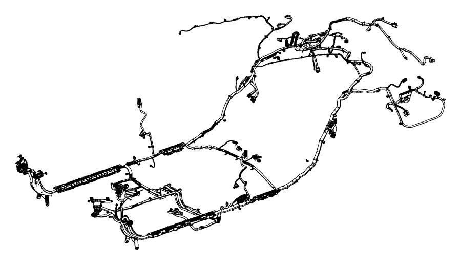 Chrysler 200 Wiring. Body. Spot, speakers, path
