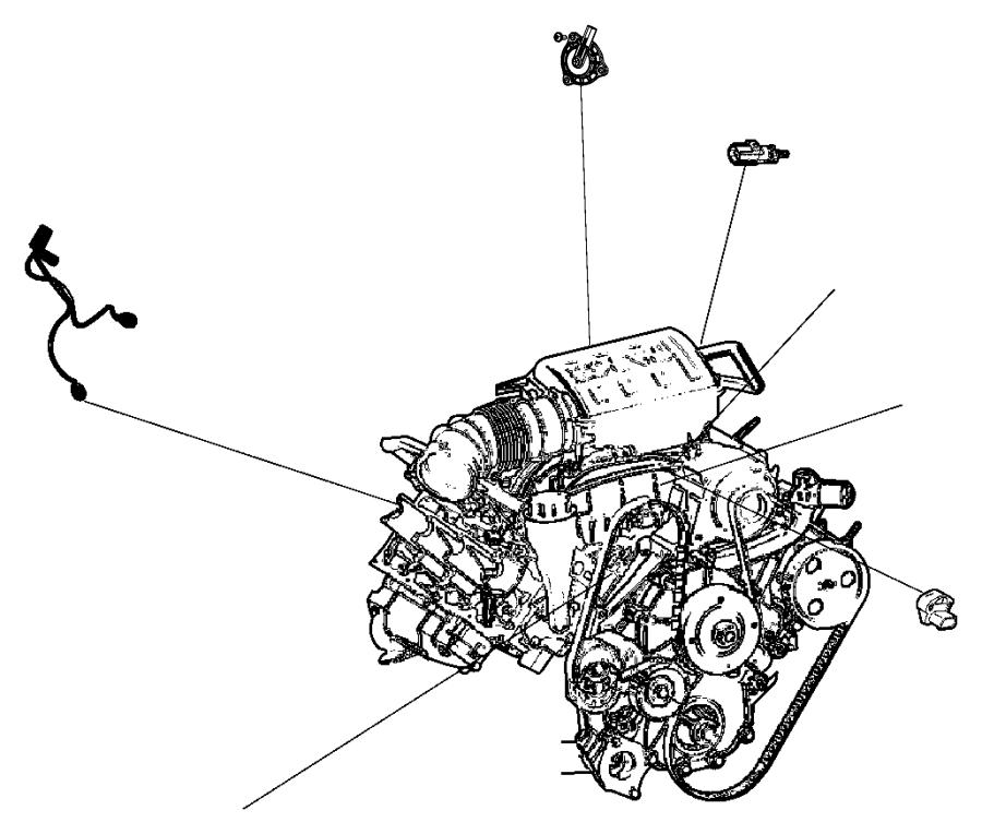 2015 Jeep Grand Cherokee Wiring. Knock, oil pressure