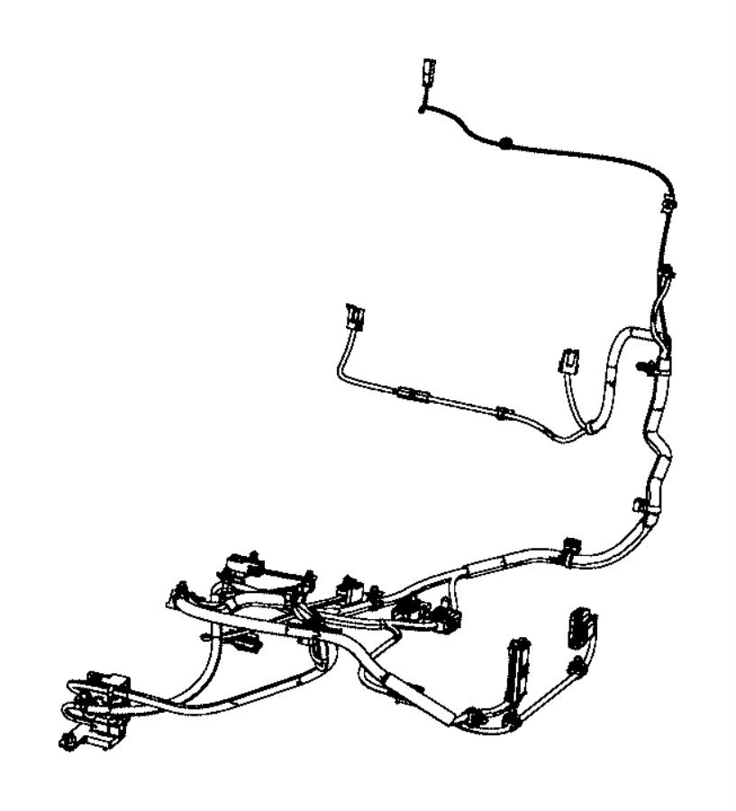 2016 Dodge Journey Wiring. Power seat. 6 way, heated