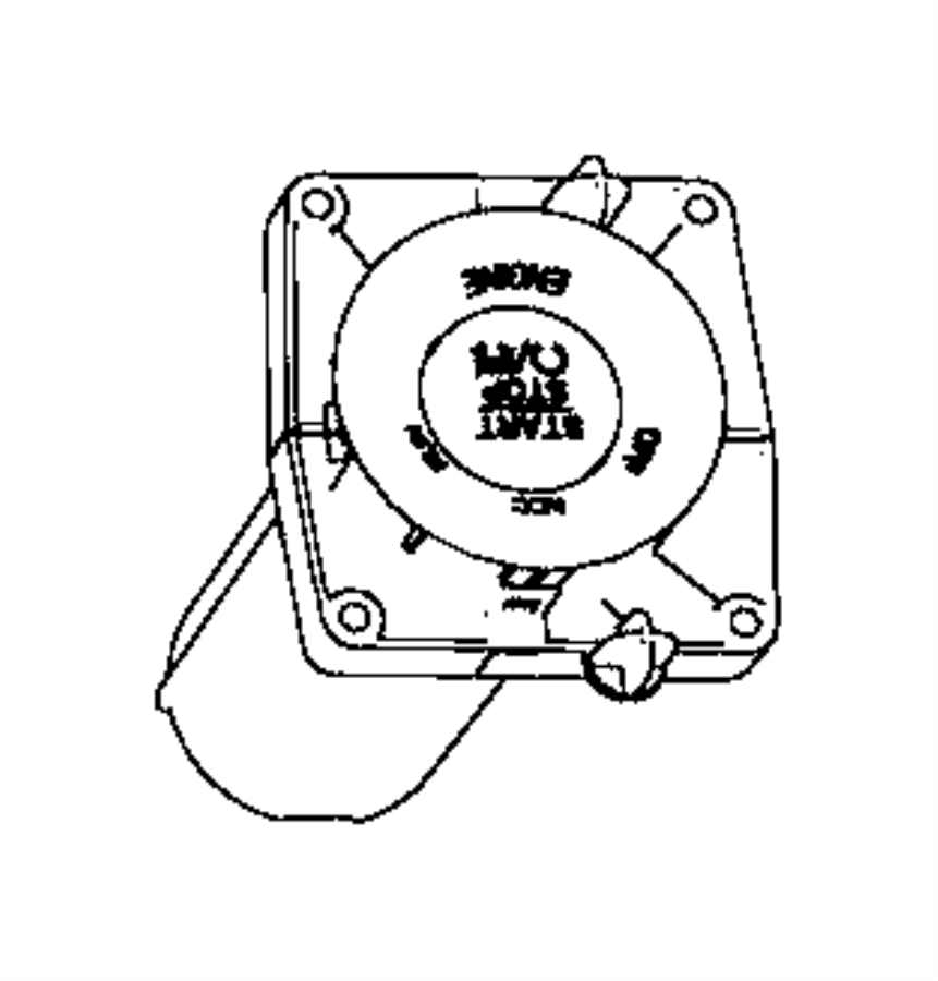 2013 Dodge Dart Switch. Ignition. Push button. [keyless go