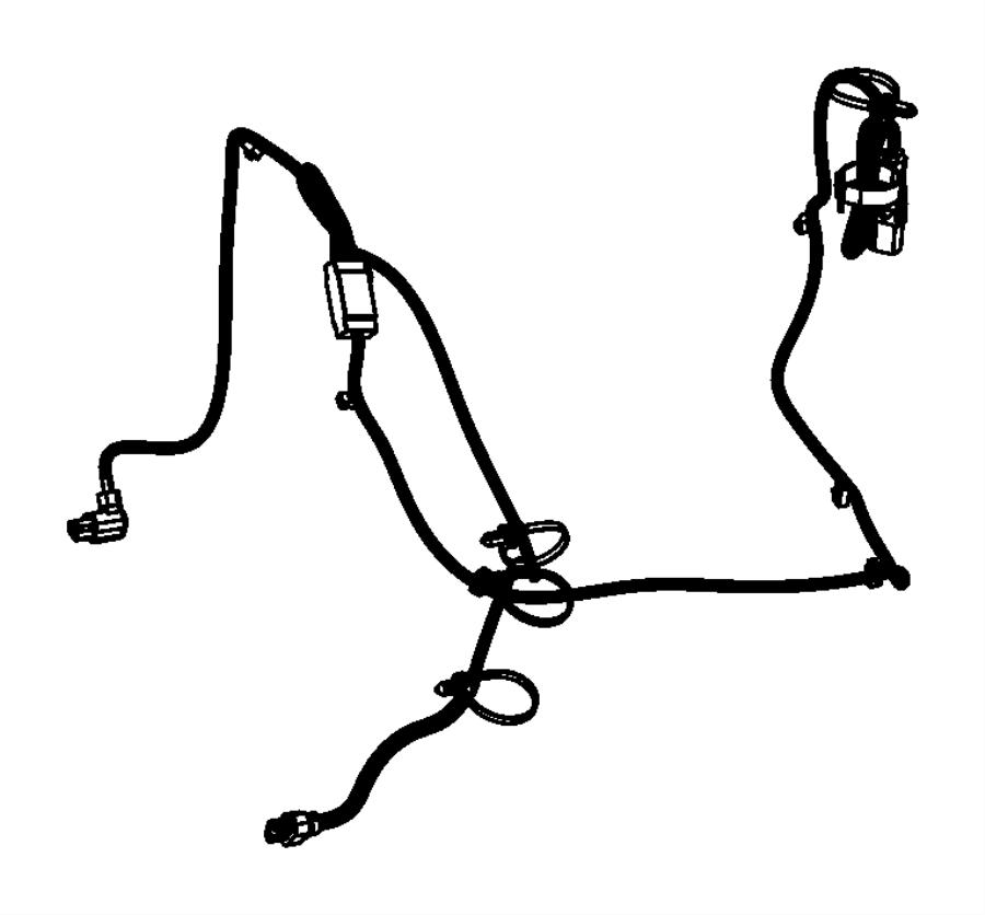 2015 Dodge Dart Cord. Engine block heater. Module, train