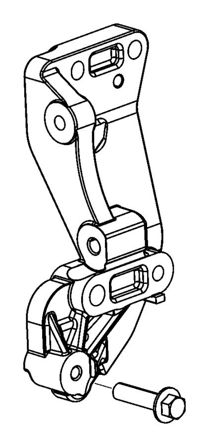 2015 Jeep Renegade Bracket. Alternator, used for