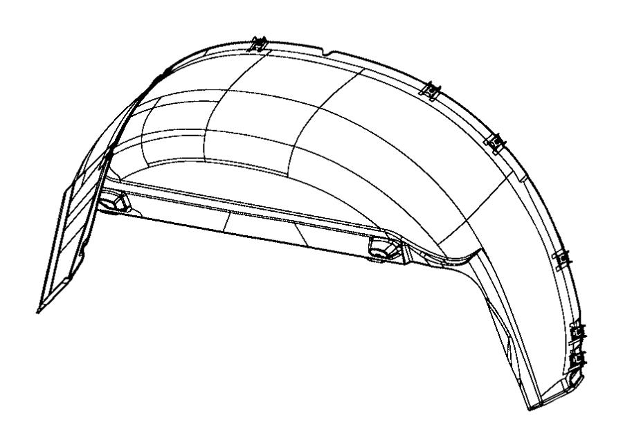 2014 Ram 3500 Shield. Splash. Rear. Left. Wheels, dual
