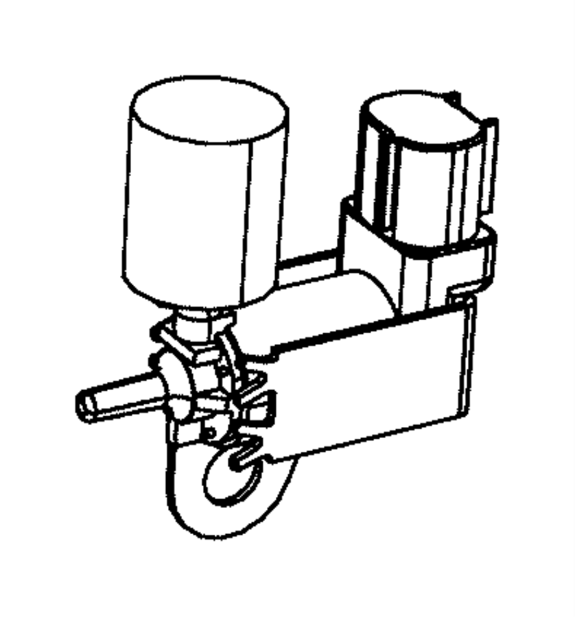 2013 Dodge Dart Valve. Purge control. Vacuum. Manifold