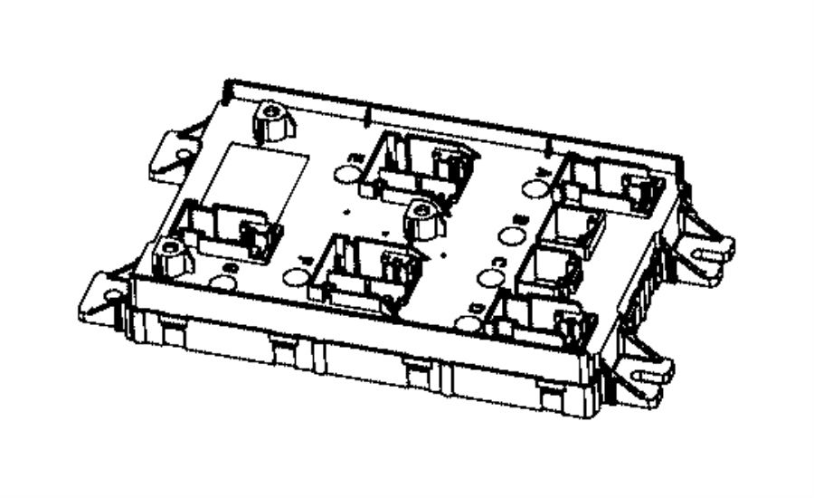 2016 Ram 4500 Module. Body controller. Modules, engine