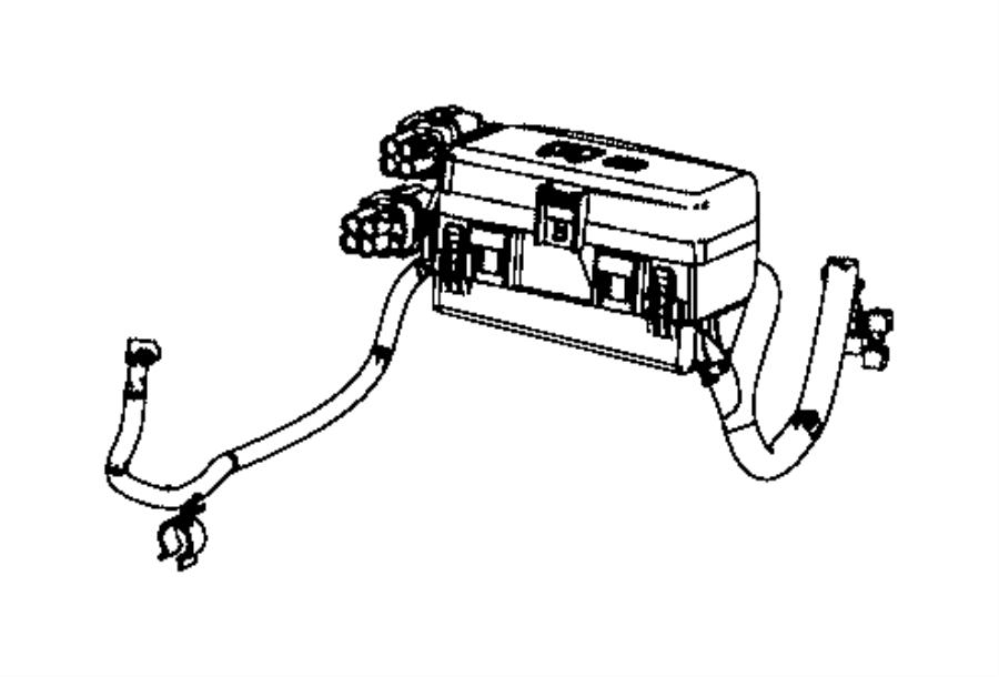 2015 Ram 3500 Kit. Auxiliary power distribution center