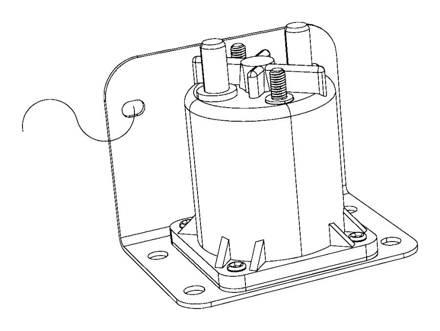2015 Ram 4500 Relay. Ait intake heater, g8v-rh-1a7t-r
