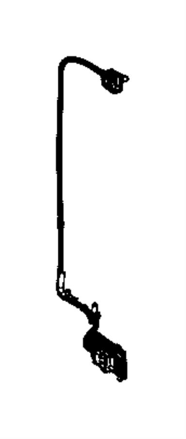 Ram 3500 Wiring. Jumper. Camera. [parkview(tm) rear back
