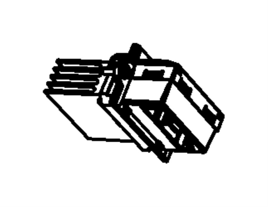 Dodge Journey Module Power Blower Motor Heater