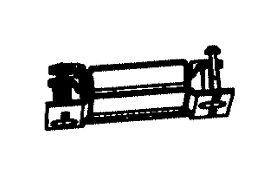 2016 Ram 5500 Module. Parking assist. [parksense ft/rr