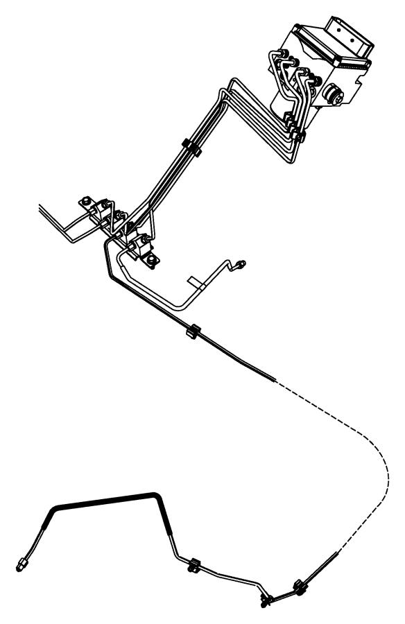 Ram 1500 Module. Anti-lock brake system. [electronic