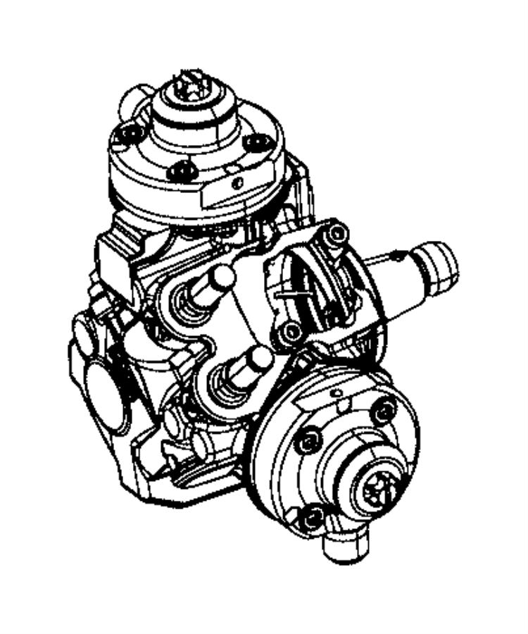 2017 Ram 1500 Pump. Fuel injection. Emissions, export