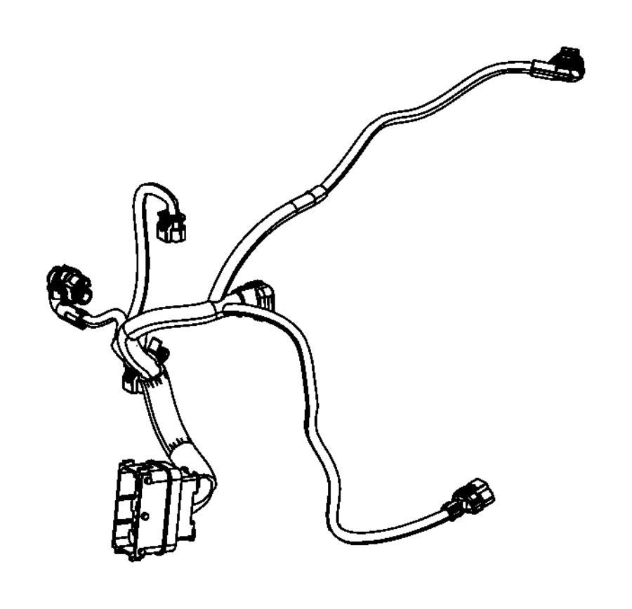 2015 Dodge Dart Wiring. Transmission. Export. Module
