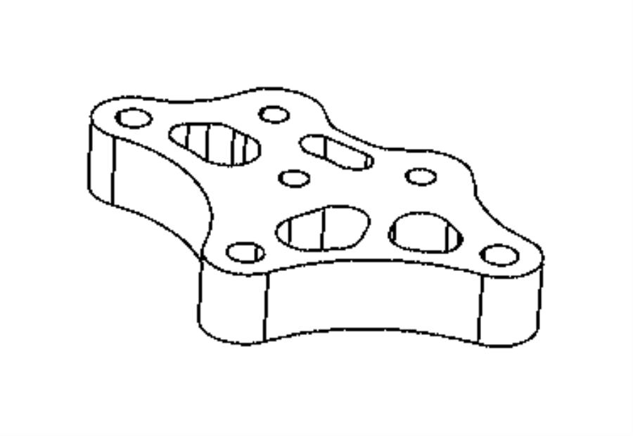 Fiat 500L Support. Engine. [6-spd c635 manual transmission