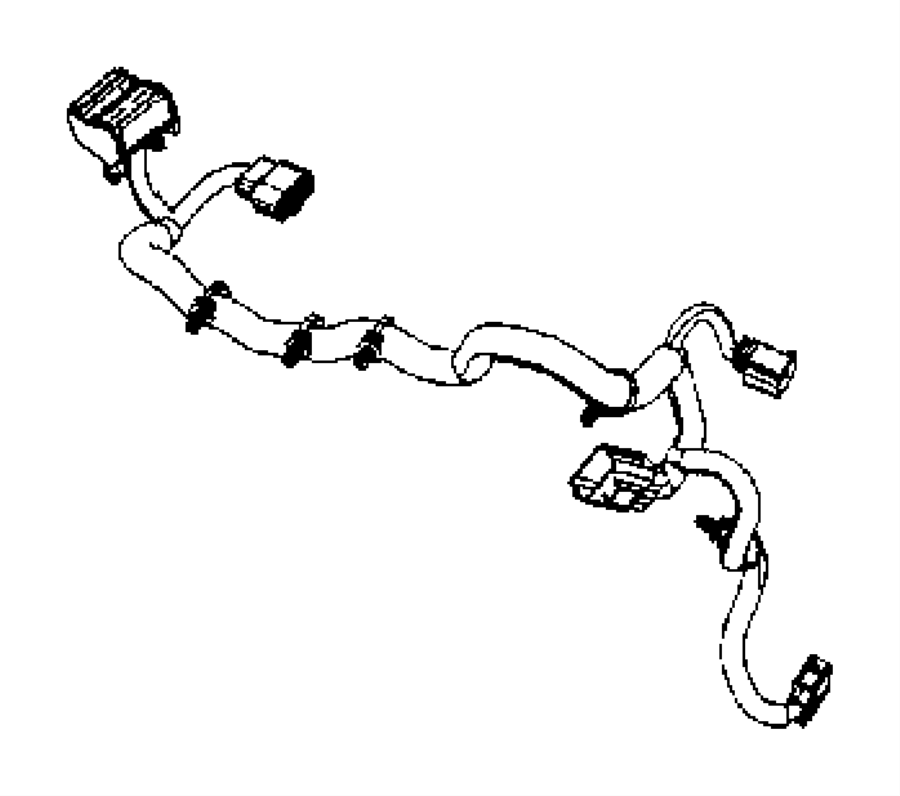 2016 Jeep Wrangler Wiring. Headlamp. Export. [front end