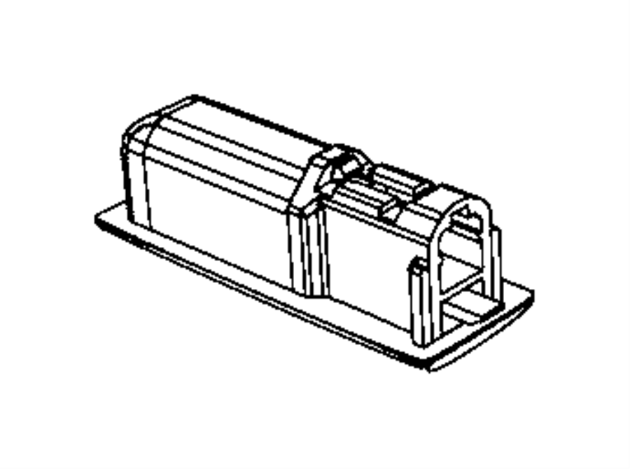 2003 Chrysler PT Cruiser Lamp. Ash receiver. Trim: [all