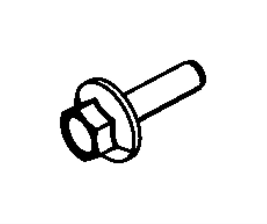 Ram Bolt Hex Flange Head M16x1 50x60 00 Mounting