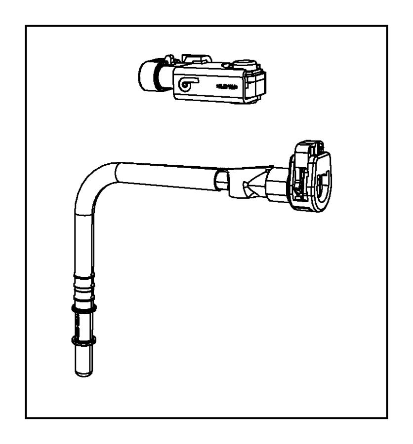 Chrysler 300 Tube. Purge. Detection, canister, leak