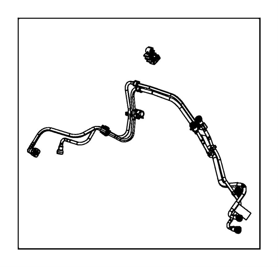 Dodge Journey Clip. Tie strap. Fuel, mopar, lines, filter