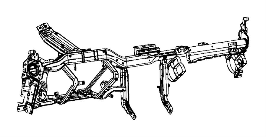 Dodge Challenger Instrumen. Instrument panel. Structure