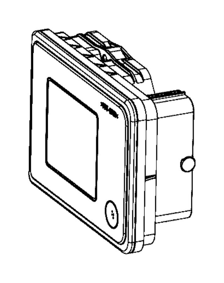 2016 Dodge Charger Module. Anti-lock brake system