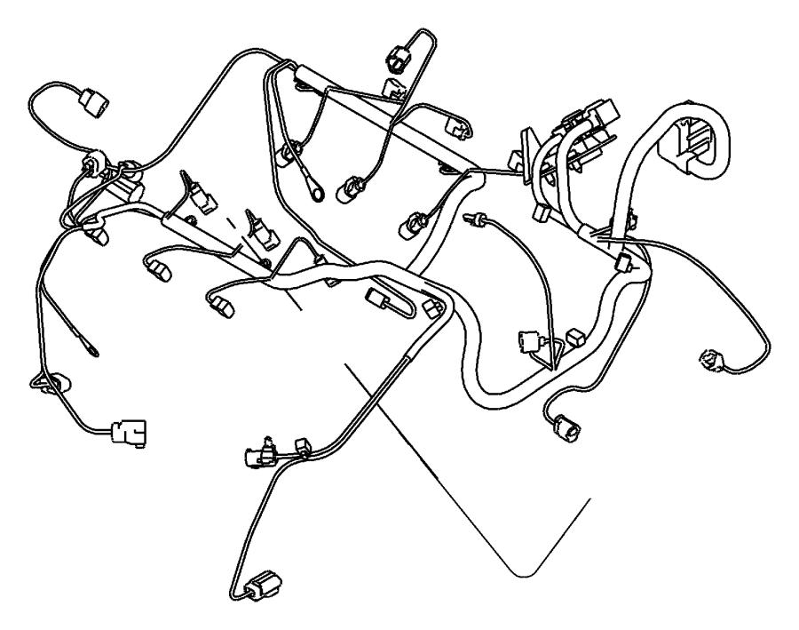 Chrysler 300 Wiring. Engine. Mopar, description