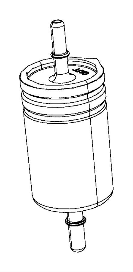 Jeep Renegade Filter. Fuel. Export. [alternate fuel system