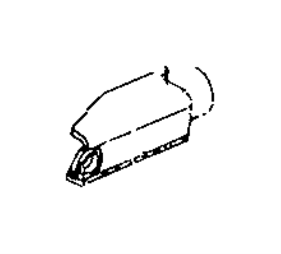 2017 Jeep Renegade Bracket. Seat. Canada. Power, way