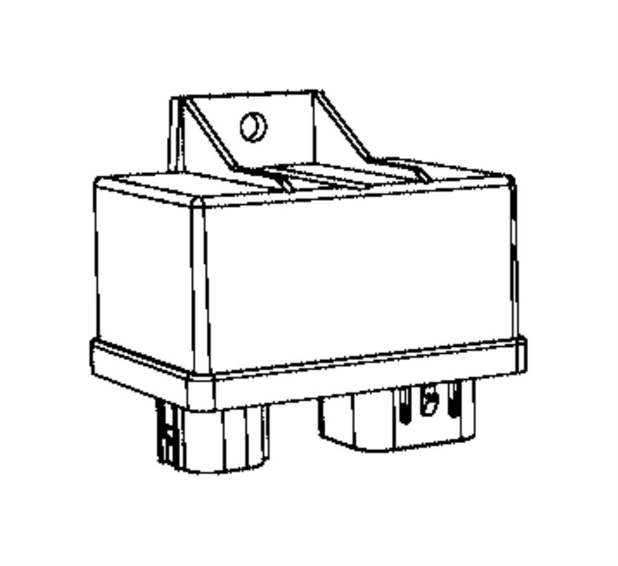 Jeep Renegade Bracket. Engine wiring. [power train parts