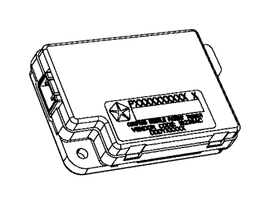 2014 Dodge Dart Module. Compass. Dvd, uconnect, touch