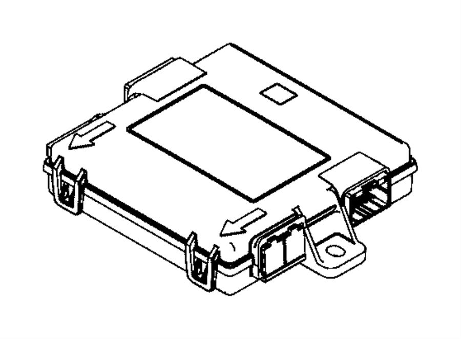 2017 Jeep Renegade Bracket. Export. Keyless, entry