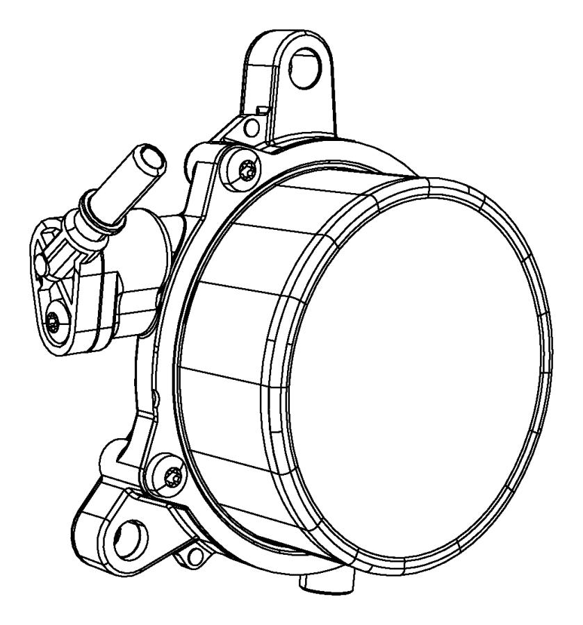Jeep Renegade Pump. Vacuum. Export. Engine, diesel