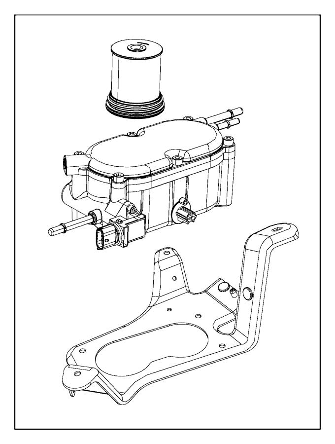 2016 Jeep Grand Cherokee Filter. Fuel/water separator