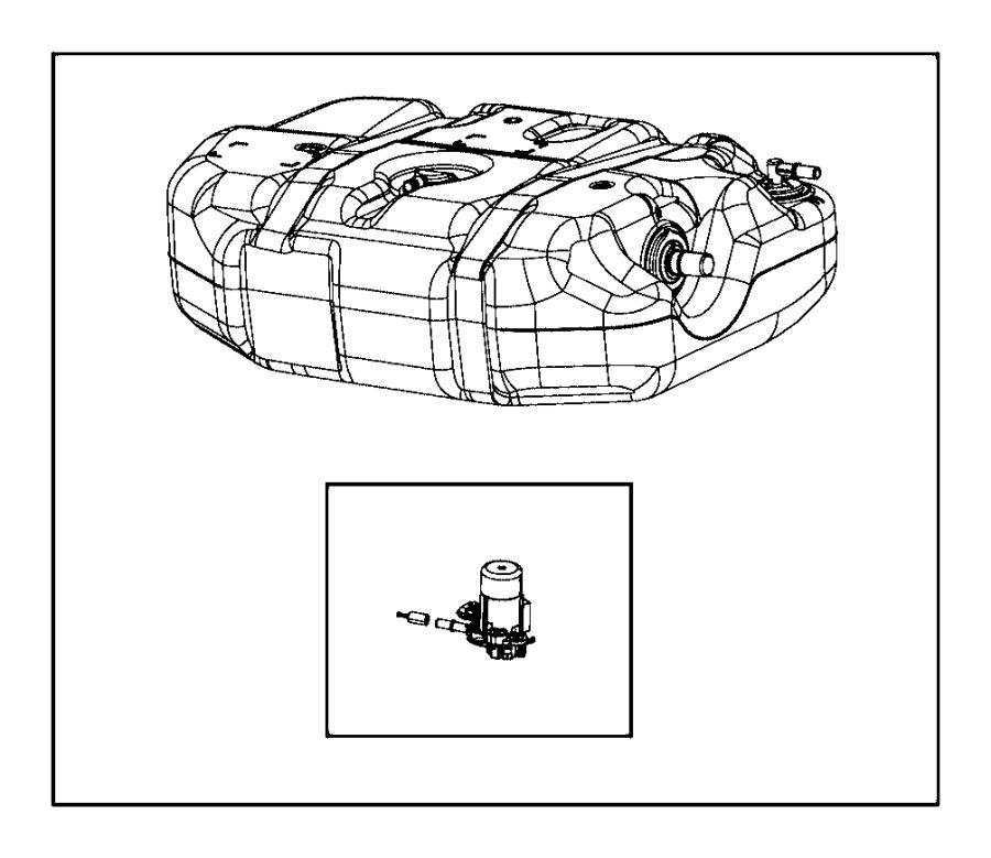 2016 Jeep Grand Cherokee Tank. Diesel exhaust fluid
