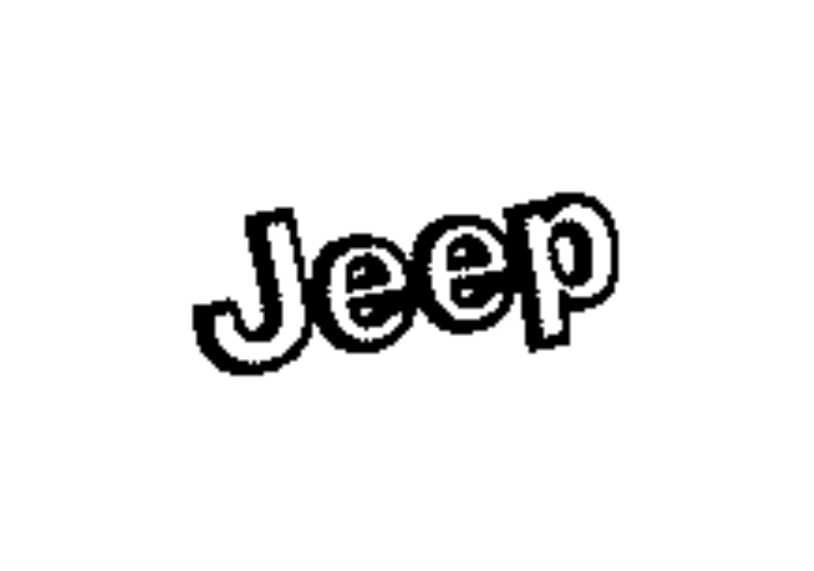 Jeep Grand Cherokee Wiring. License lamp. Plate, bright