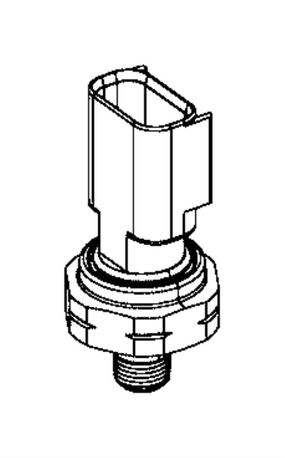 Chrysler Pacifica Sensor. Fluid temperature. Oil temp